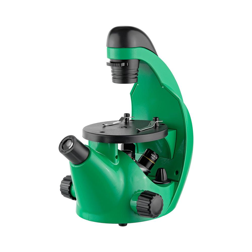 Микроскоп школьный Микромед Эврика 40х-320х инвертированный
