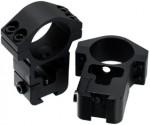 Кольца Leapers 25,4 мм с призмой 10-12 мм средние RGPM-25M4