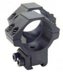 Кольца Leapers 30 мм на призму 10-12 мм, высокие RGPM-30H4