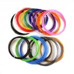 Цветной ABS пластик для 3D-Ручек 15 цветов по 10м