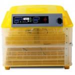 Автоматический инкубатор на 96 яиц с термометром, влагомером и автопереворотом HHD 96