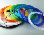 Набор PLA пластика для 3D ручки 10 цветов по 10м