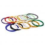 Набор PLA пластика для 3D ручки 15 цветов по 10м