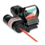 Коллиматорный прицел Sightmark Laser Dual Short Sight с ЛЦУ (крепление на 12мм) SM13002-DT